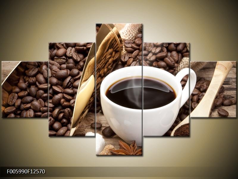 Obraz na stěnu káva
