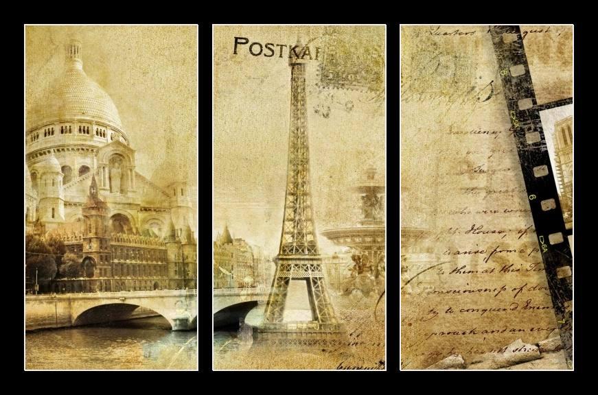 Obraz na zeď Eiffelova věž