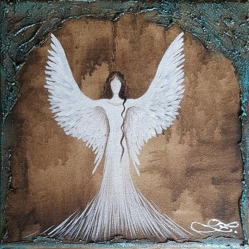 Obraz do bytu andělé