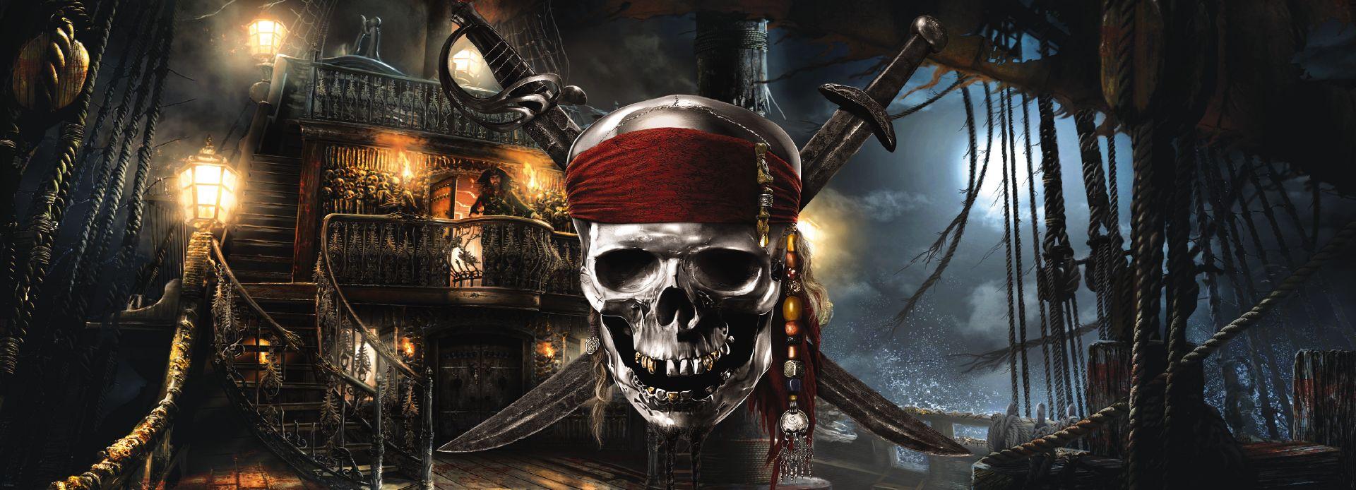 Fototapeta jednodílná - Piráti z Karibiku