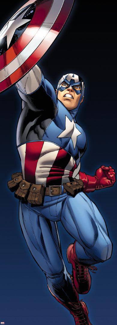 Fototapeta jednodílná - Captain America