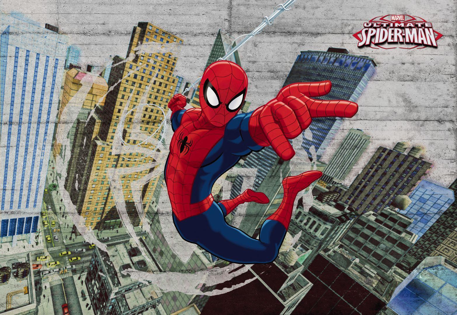 Fototapeta osmidílná - Spiderman