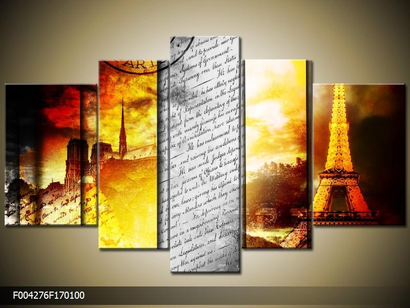 Obraz na plátně Paříž