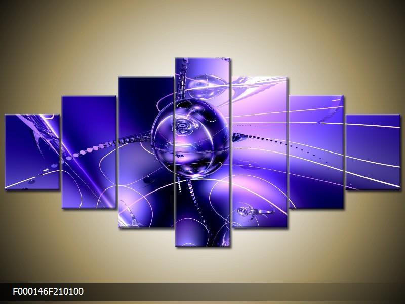 Obraz na stěnu fialová abstrakce