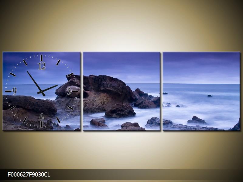 Obraz s hodinami moře