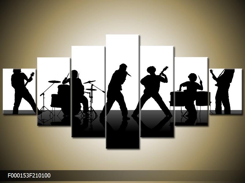 Obraz na plátně kapela