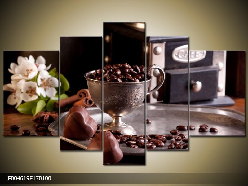 Obraz do bytu zátiší s kávou