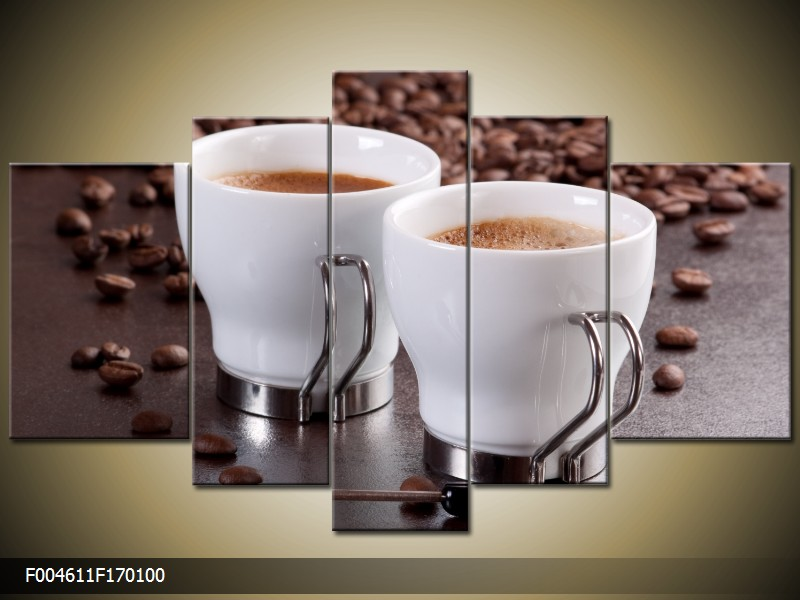 Obraz do bytu šálky s kávou