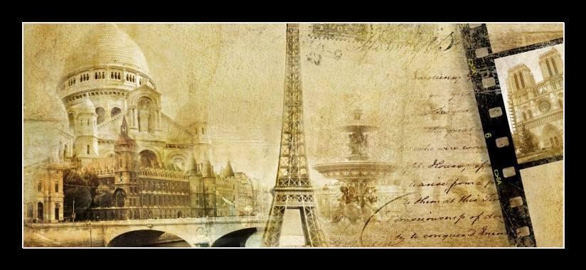Obraz na zeď Paříž
