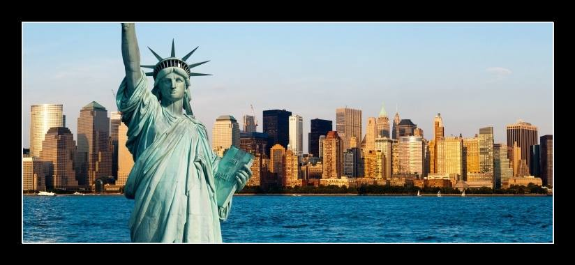 Obraz na stěnu New York, Socha svobody