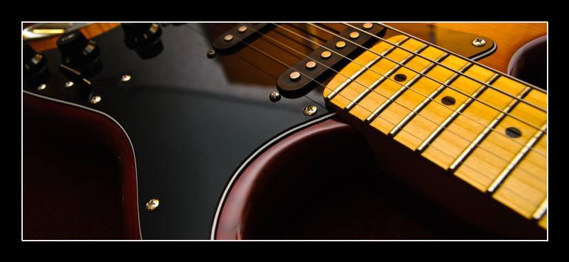 Obraz na stěnu elektrická kytara