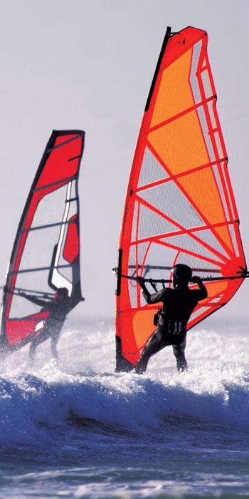 Vliesová fototapeta jednodílná - windsurfing