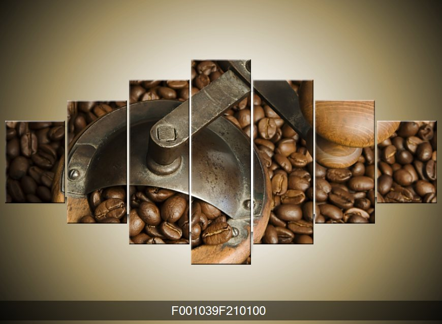 Obraz mlýnku na kávu