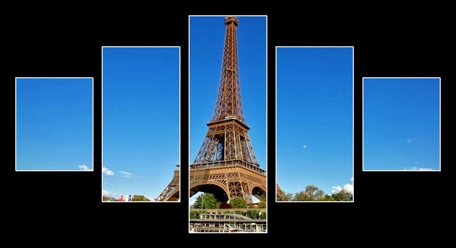 Obraz na plátně Eiffelova věž