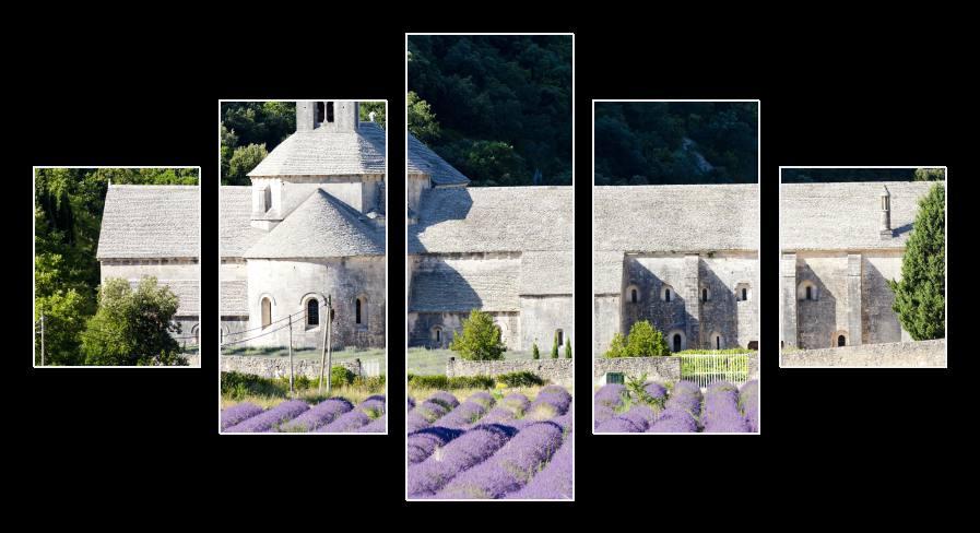 Obraz na plátně Provence