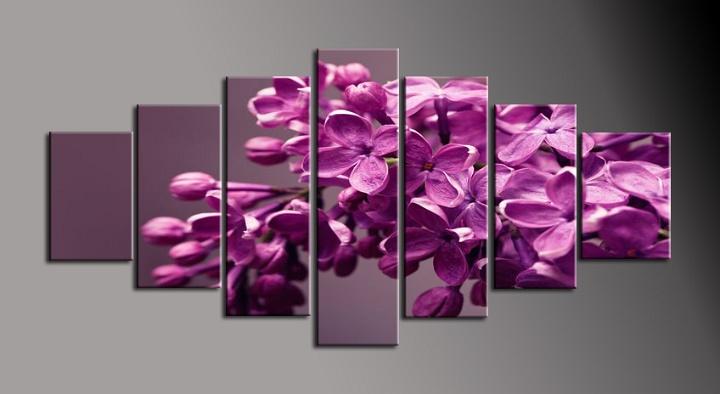 Obraz na plátně fialový šeřík