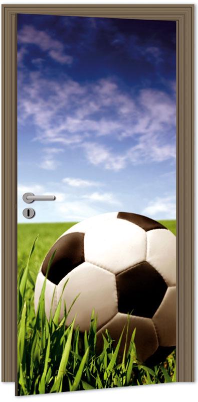 Samolepící fototapeta na dveře - fotbal