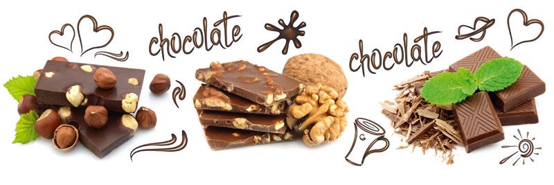 Fototapeta kuchyňská - čokoláda