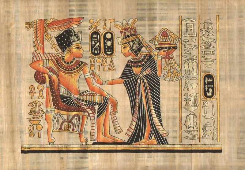 PAPYRUS ORIGINÁL EGYPT-30x40 cm