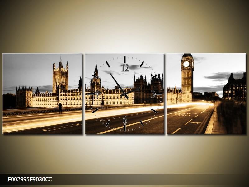 Obraz s hodinami Londýn