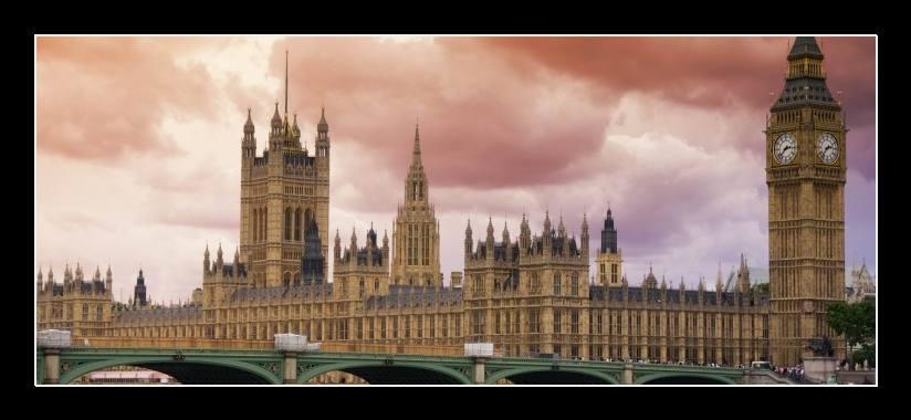 Obraz na plátně Londýn