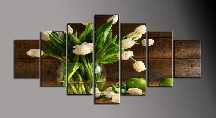 Obraz na stěnu tulipány ve váze