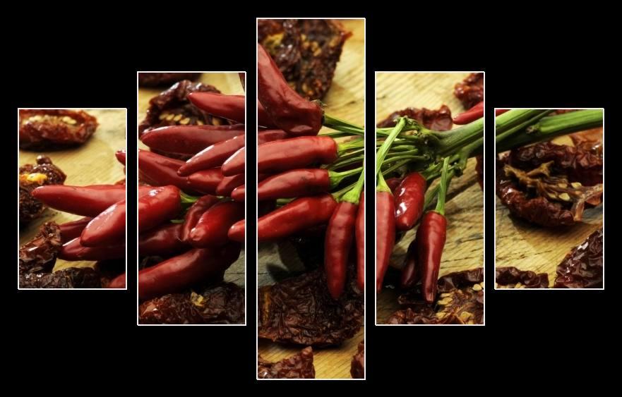 Obraz na stěnu chilli papričky
