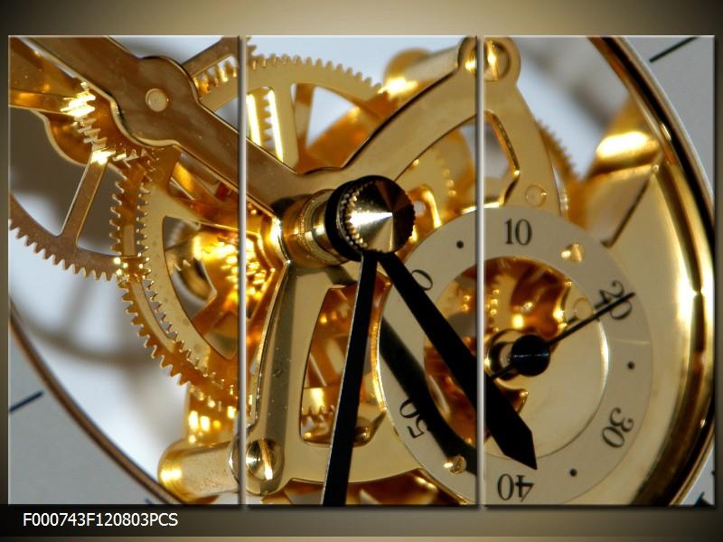 Obraz na stěnu hodinový strojek
