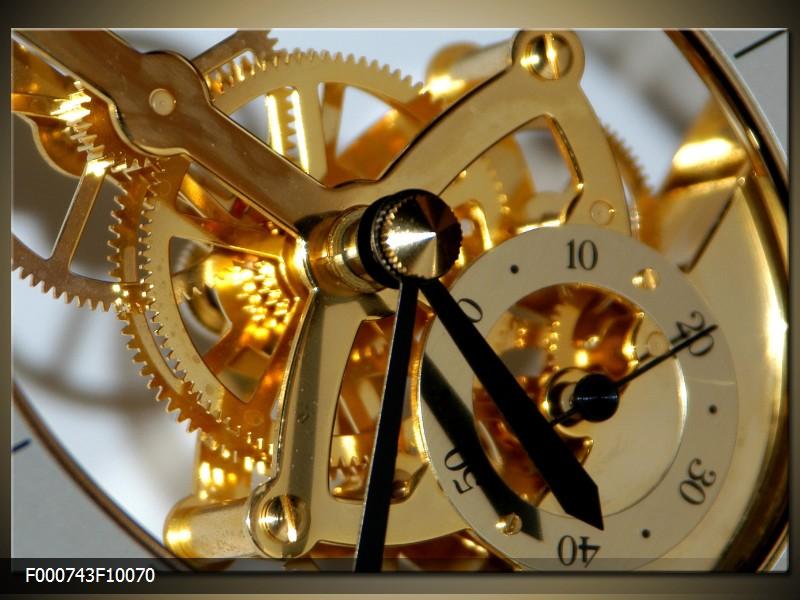 Obraz do bytu hodinový strojek