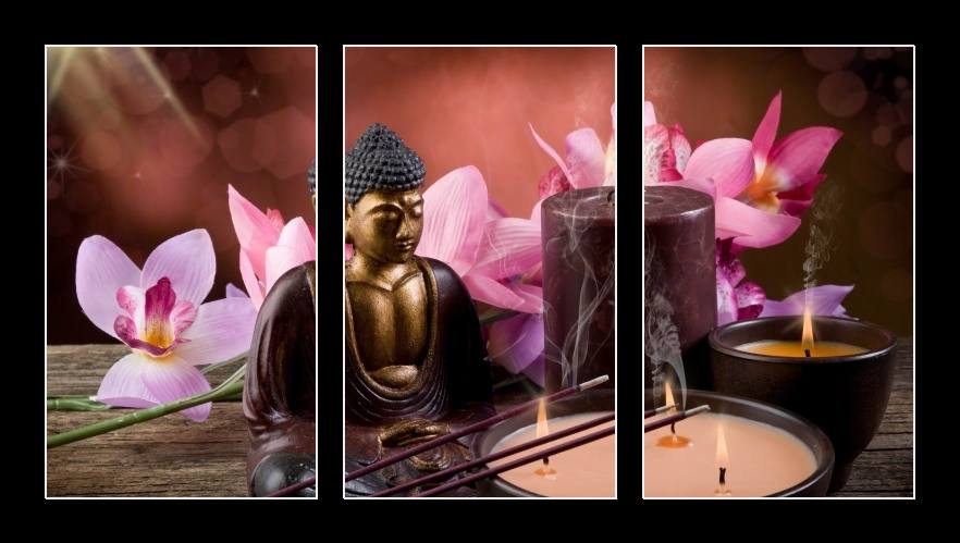 Obraz na zeď Budha