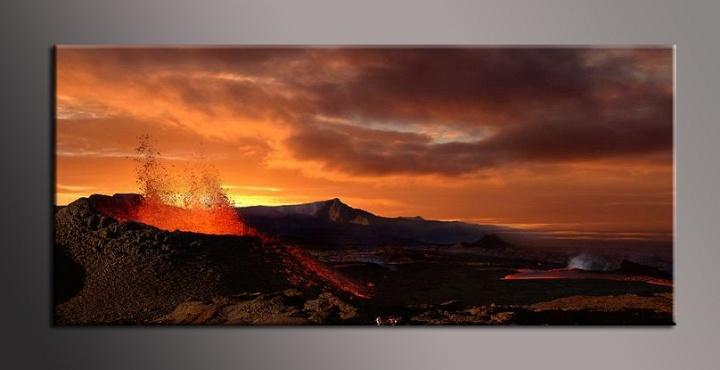 Obraz na zeď sopka