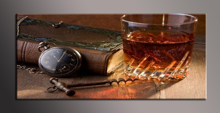 Obraz do bytu whiskey