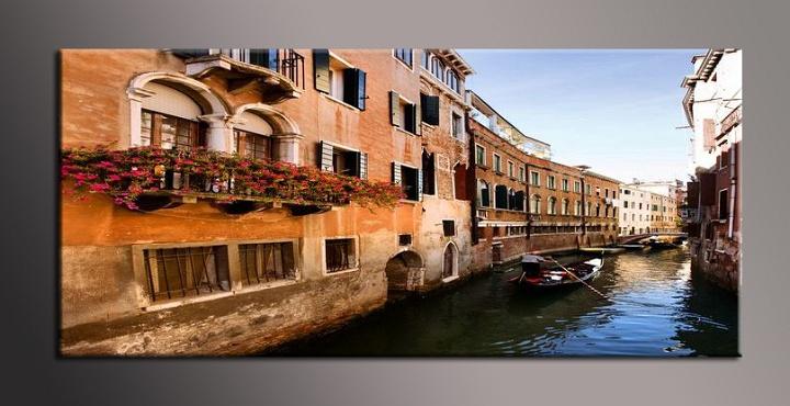 Jednodílný obraz Benátek