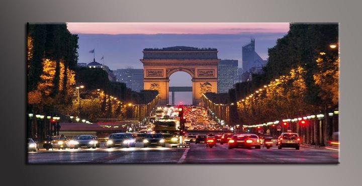 Obraz na plátně město