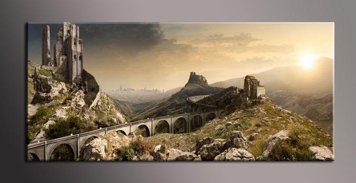 Obraz na plátně most