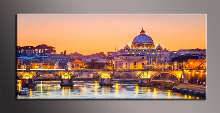 Obraz na plátně Řím