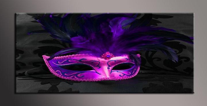 Obraz na plátně maska