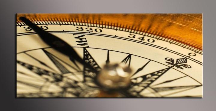 Obraz na plátně kompas