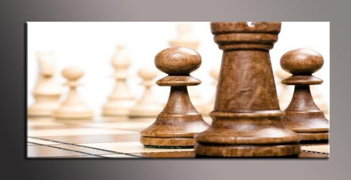 Obraz na plátně šachy