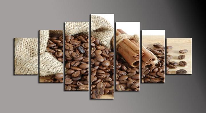 Obraz na stěnu zrnková káva