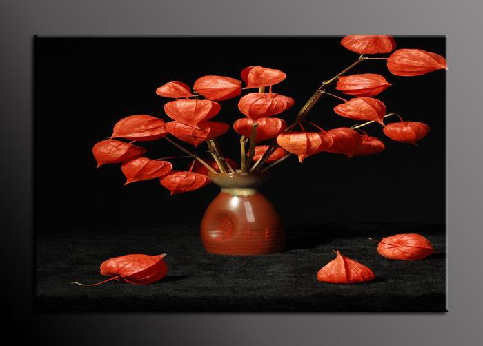 Obraz na stěnu váza s květinami