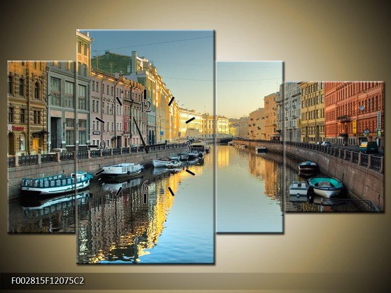 Obraz s hodinami Benátky
