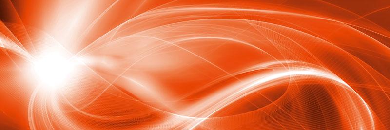 Fototapeta kuchyňská - oranžová abstrakce