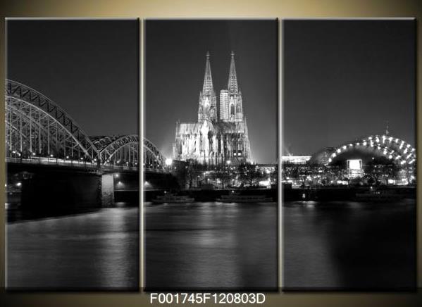Černobílý obraz města