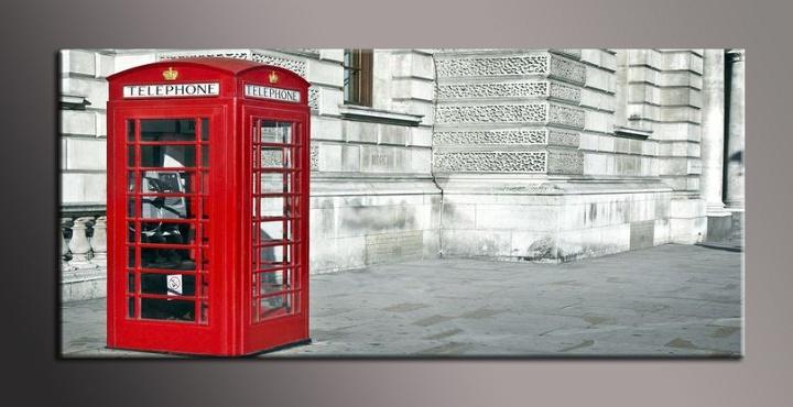 Obraz do bytu londýnská telefonní budka