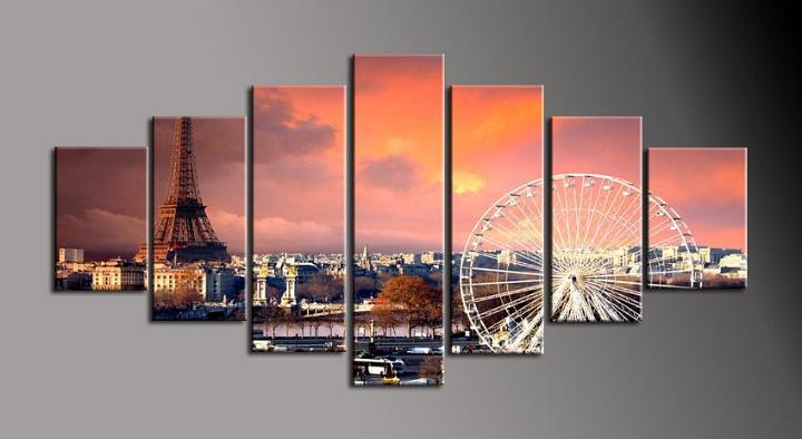 Obraz do bytu Paříž