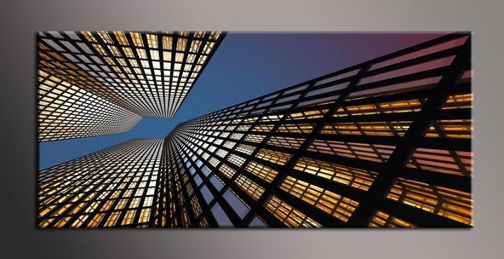Obraz na plátně mrakodrapy