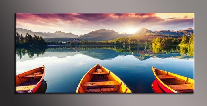 Obraz na zeď jezero