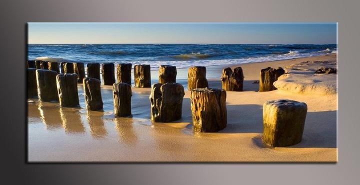 Obraz na zeď pláž
