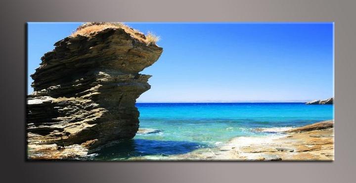 Obraz na zeď skála u moře
